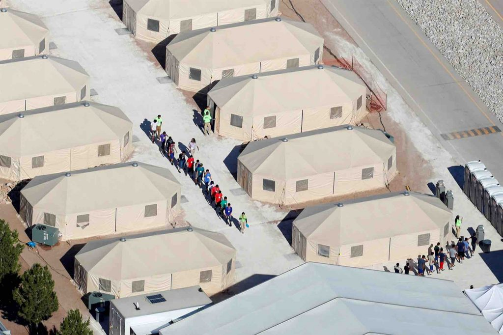 US internment camp 2018