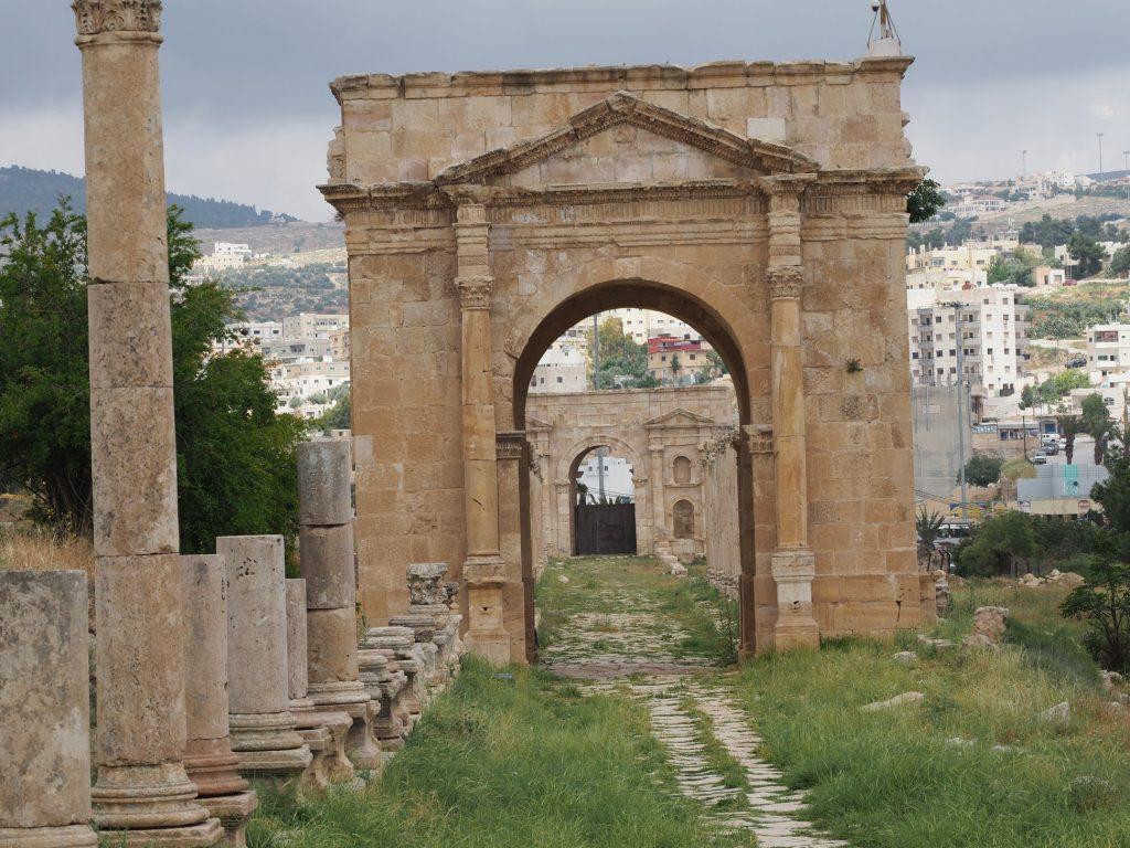 Jarash - North Gate