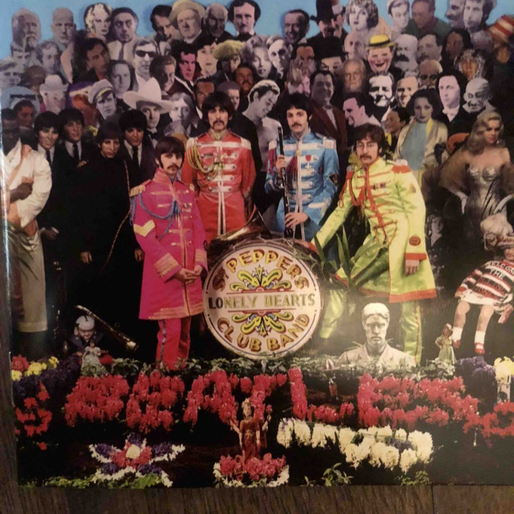 Sgt Peppers Lonely Hearts Club Band 50th Anniversary inside booklet cover