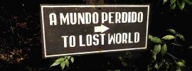 """sign """"To Lost World"""""""