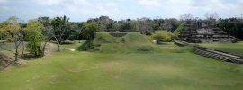 Mayan site of Lamanai