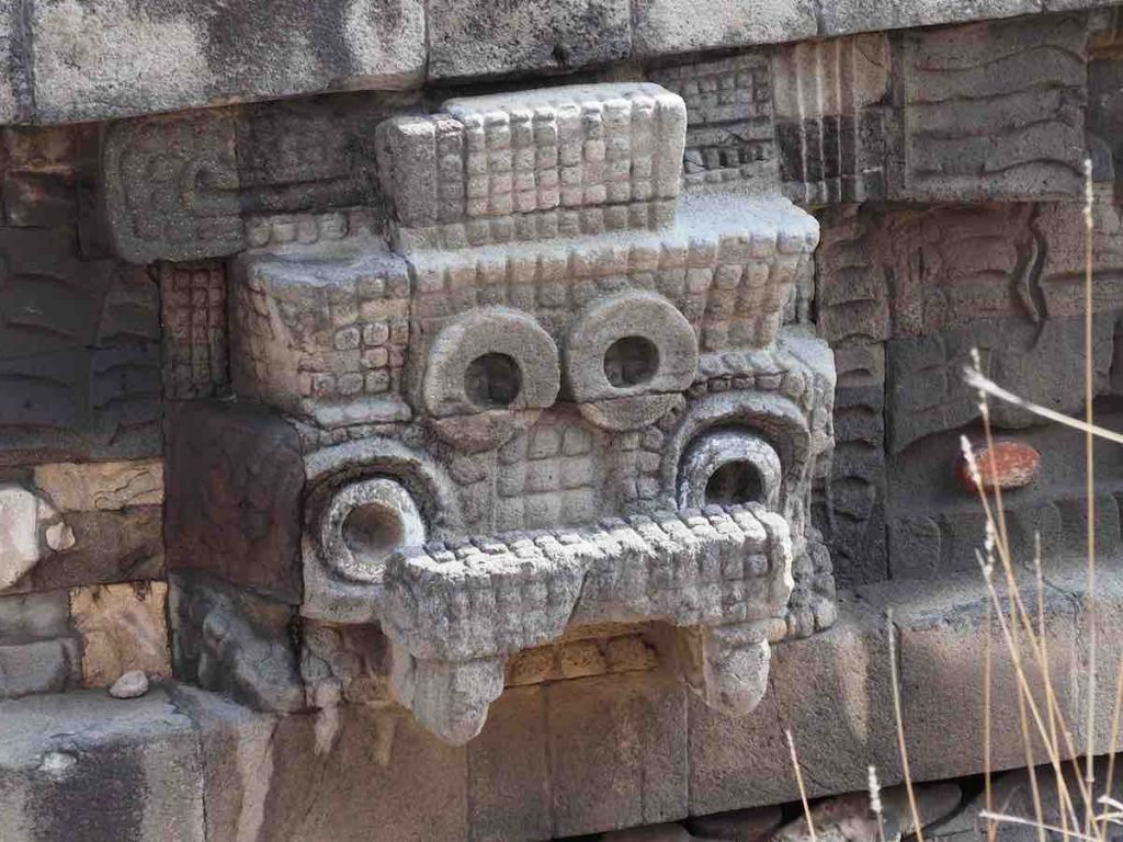 Temple of The Featured Serpent, Teotihuacan, Mexico