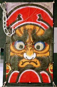 Japanese kite - figure of Dahruma