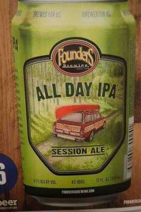 beer can named All Day IPA - Session Beer